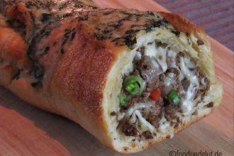 Ciabatta-Beef-Roll mit Käse